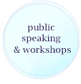 public speaking and workshop